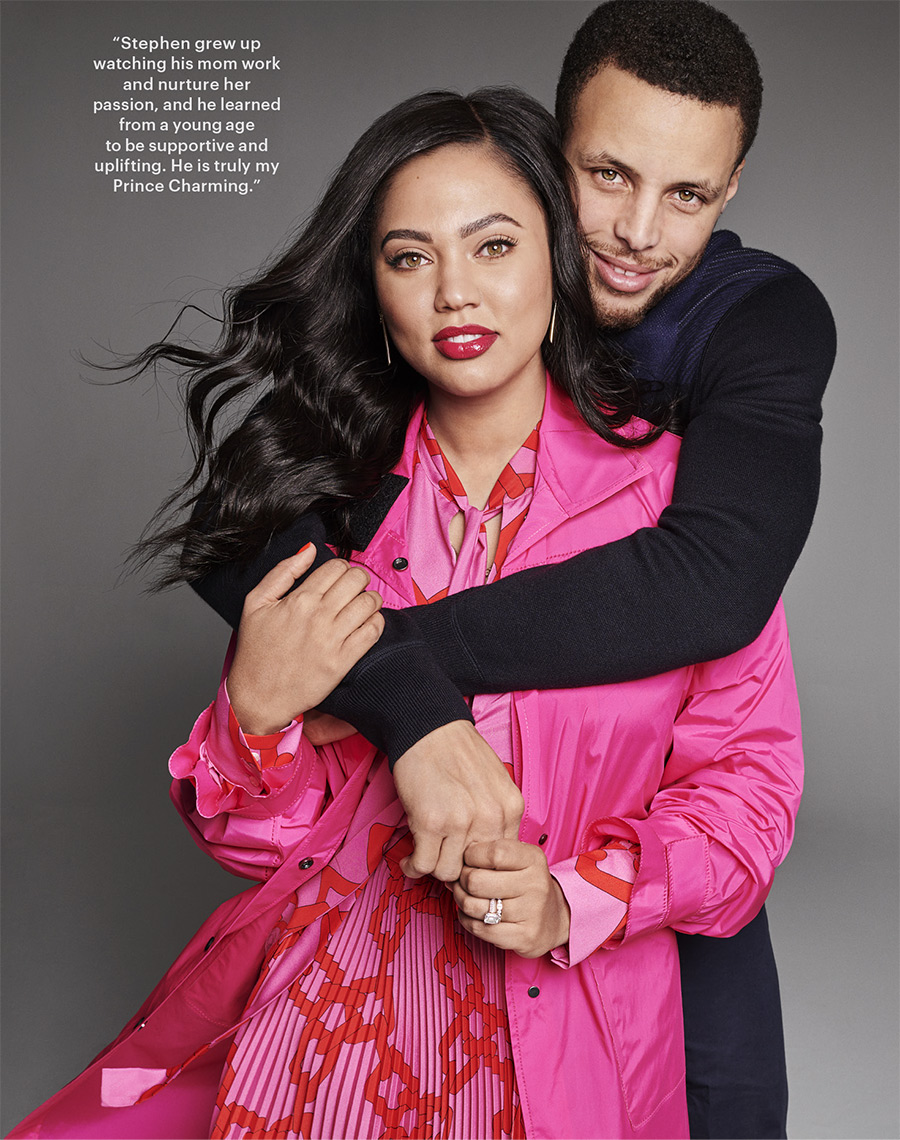 PARENTS MAGAZINE - STEPHEN & AYESHA CURRY