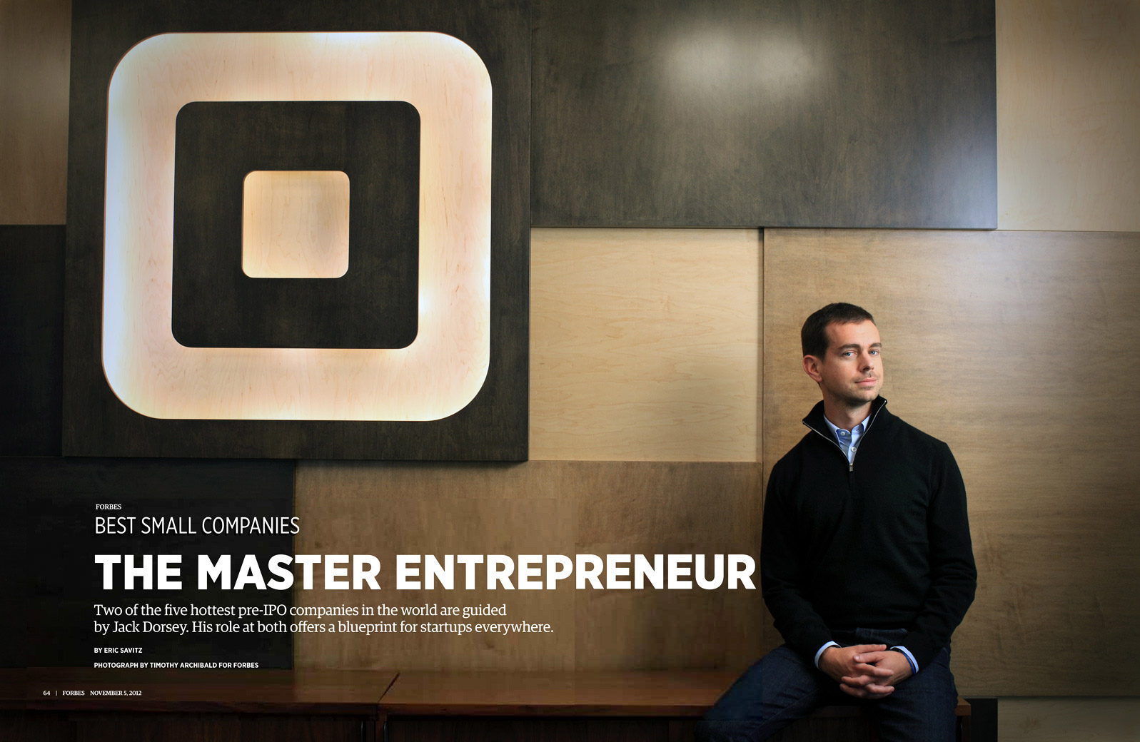 FORBES - JACK DORSEY