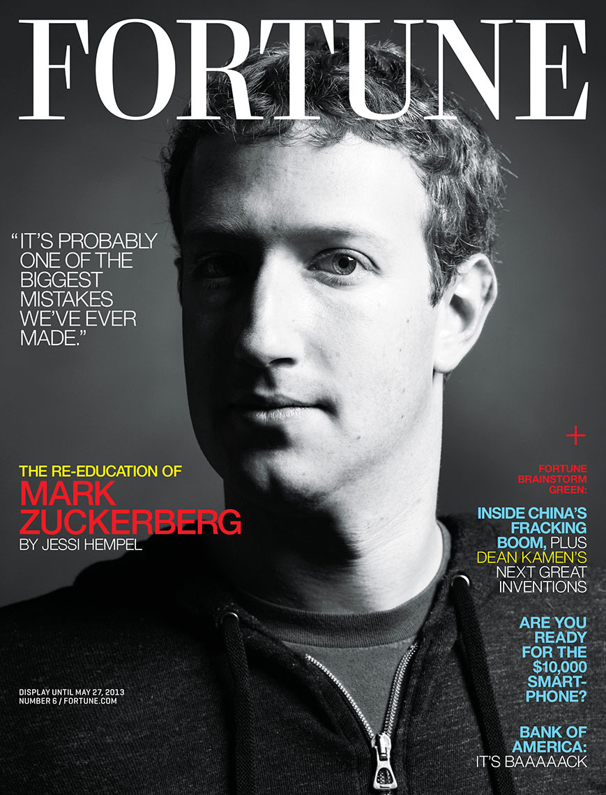 FORTUNE - MARK ZUCKERBERG