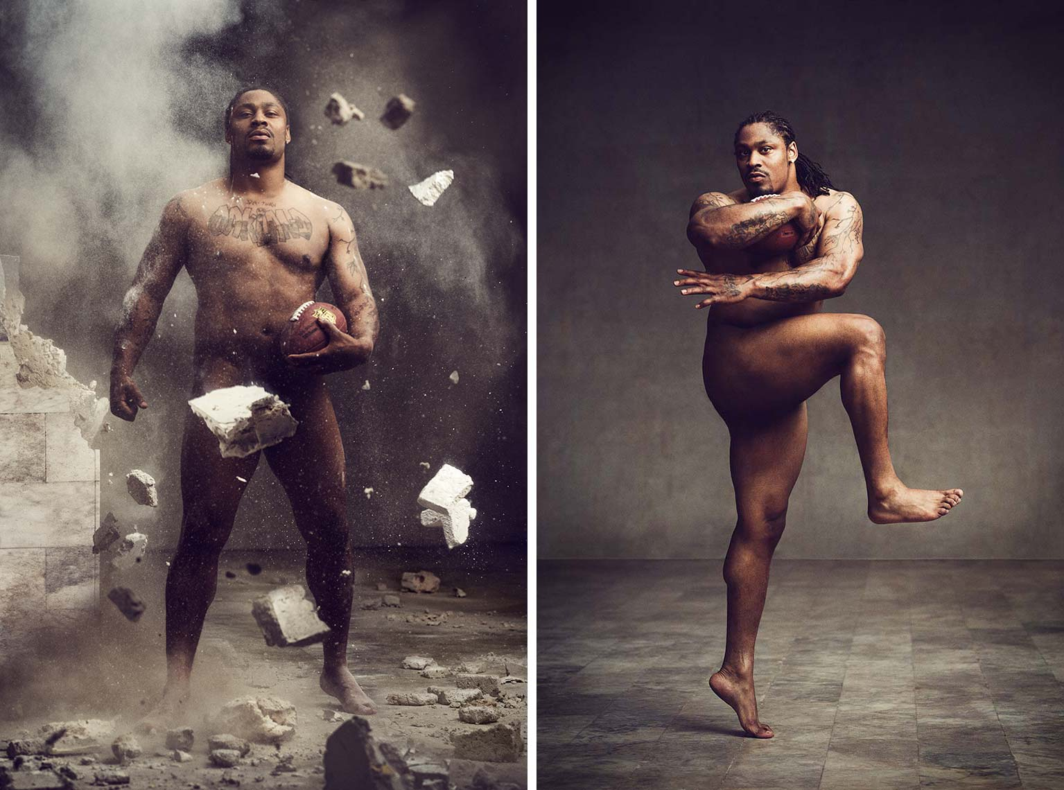 ESPN: THE BODY ISSUE - MARSHAWN LYNCH